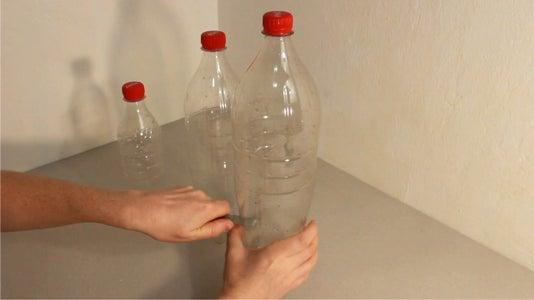 Adjusting the Plastic Bottles