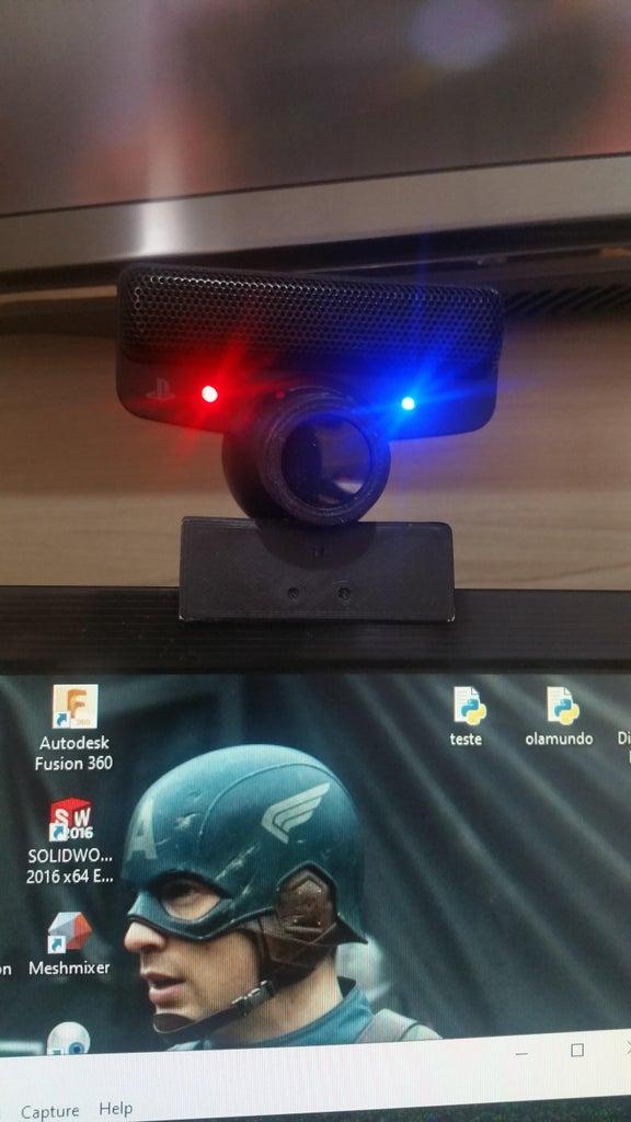 Head Tracker IR - Dispositivo Para Rastreamento De Cabeça