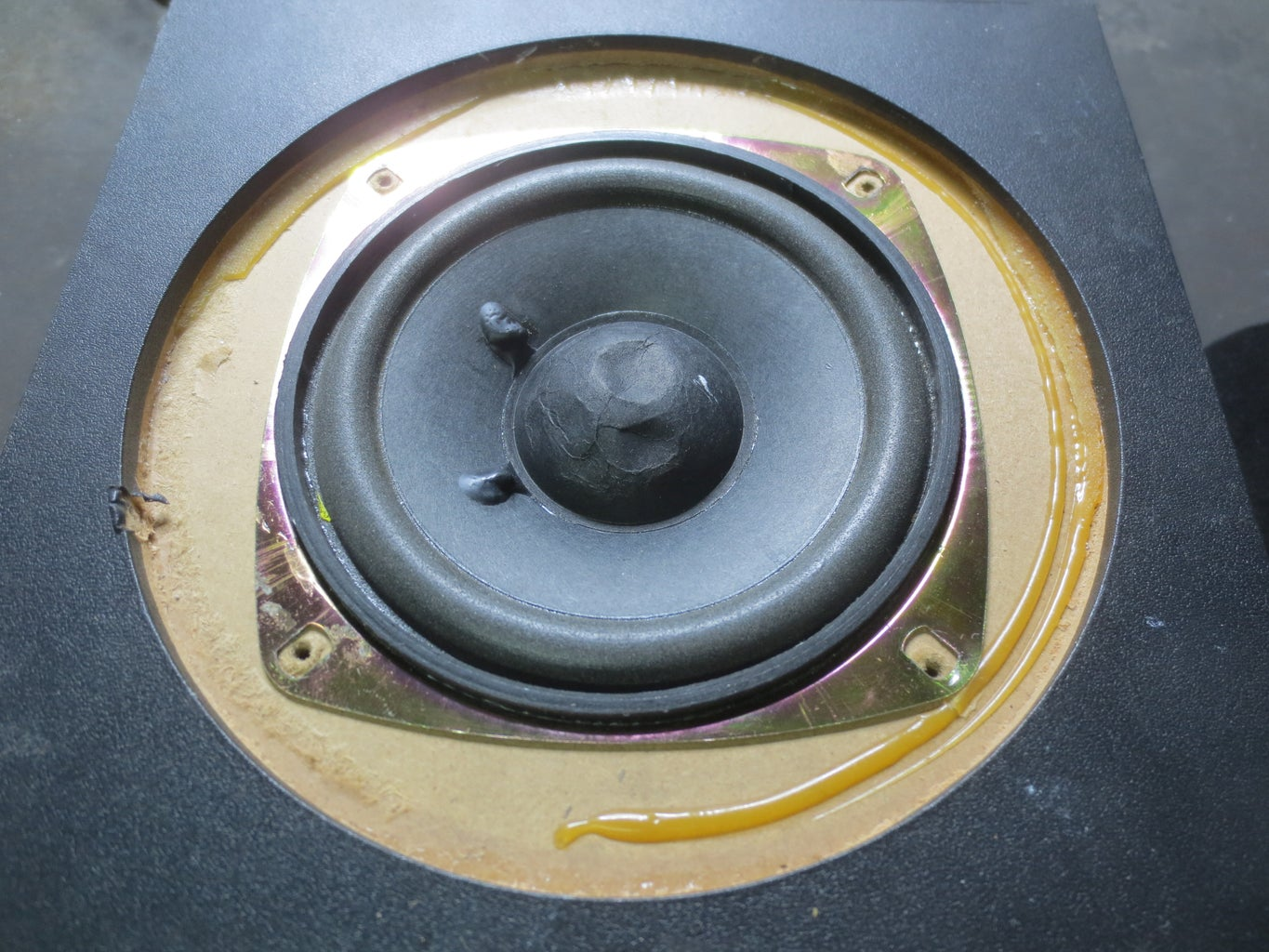 Open the Subwoofer Main Box