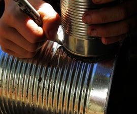 DIY Tin Can Meat Smoker