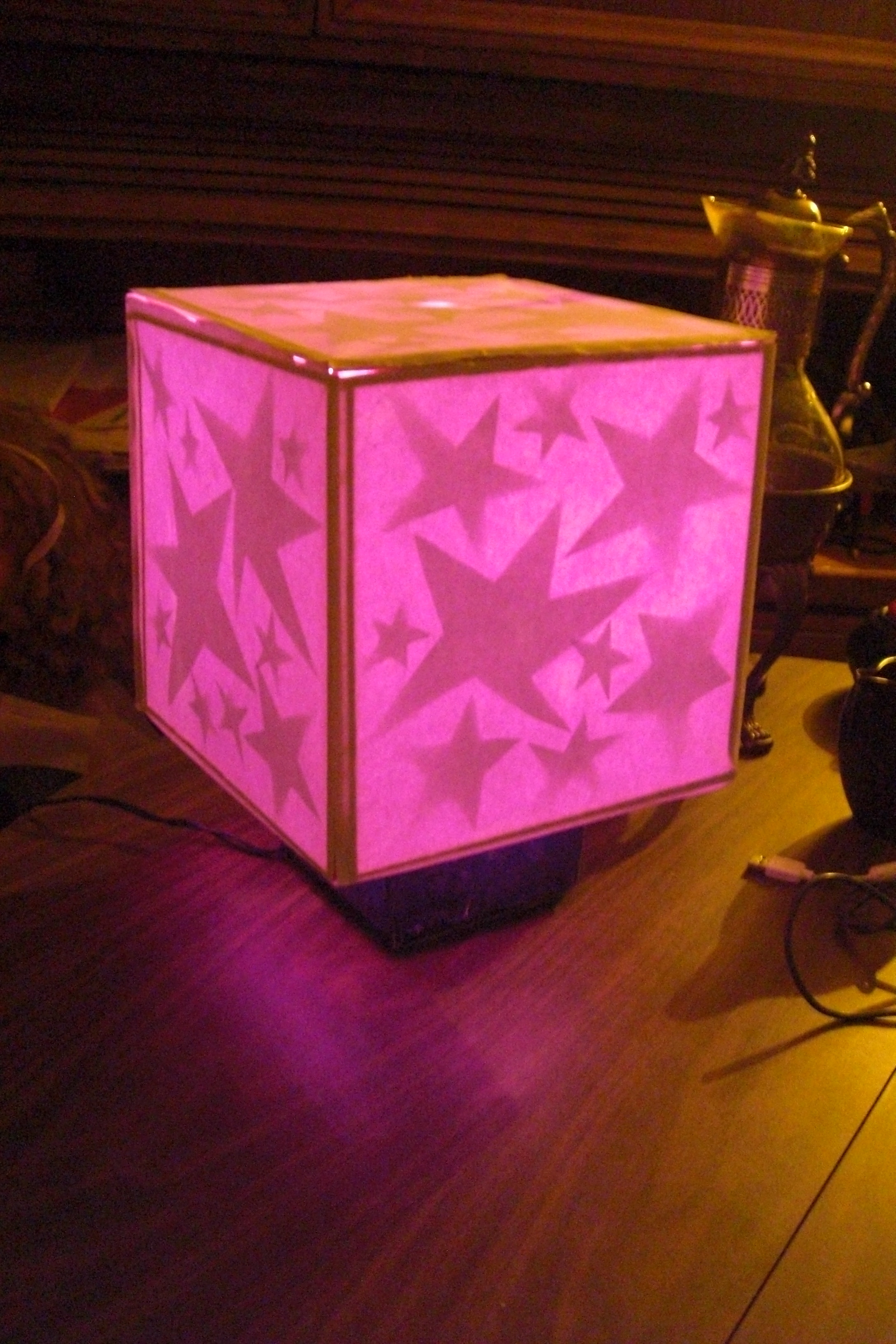 Happy Star Night Light