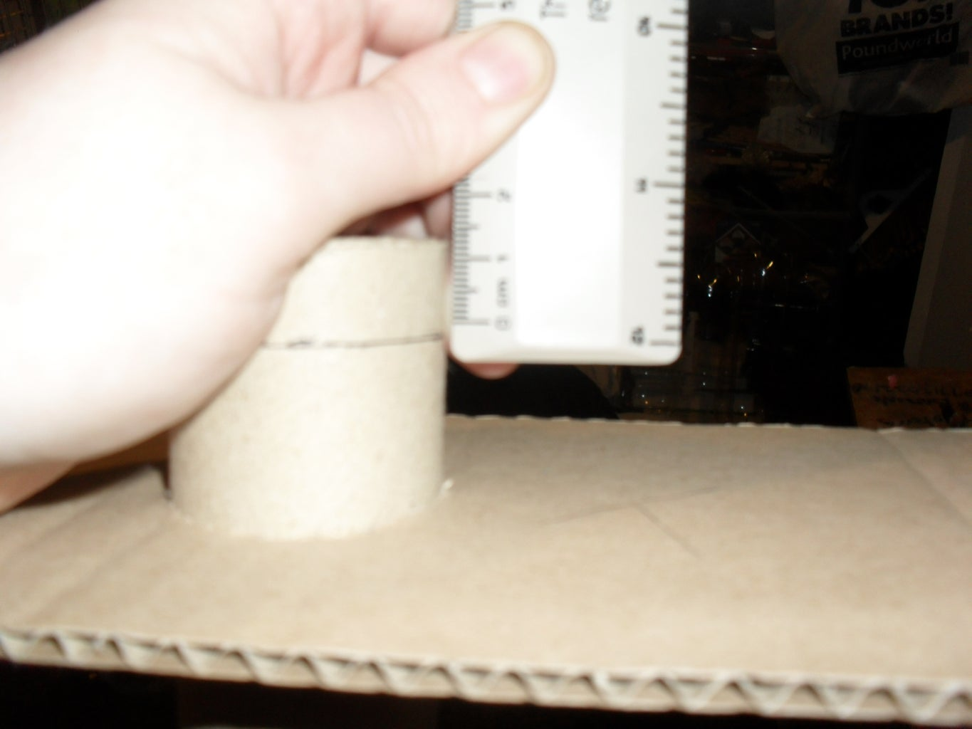 9b. Glue the Handle in Place