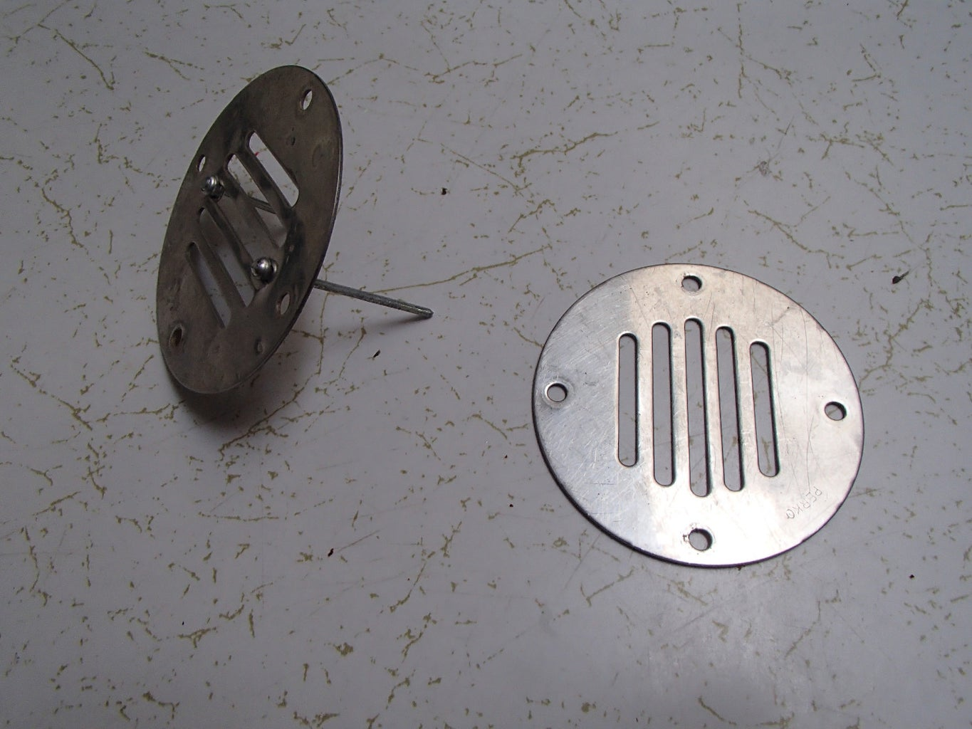 Removable Drain Covers for Sailboat Cockpit Drains