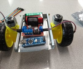 Arduino Robot Made From HDD