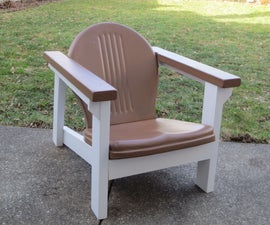 Adirondack Style Deck Chair