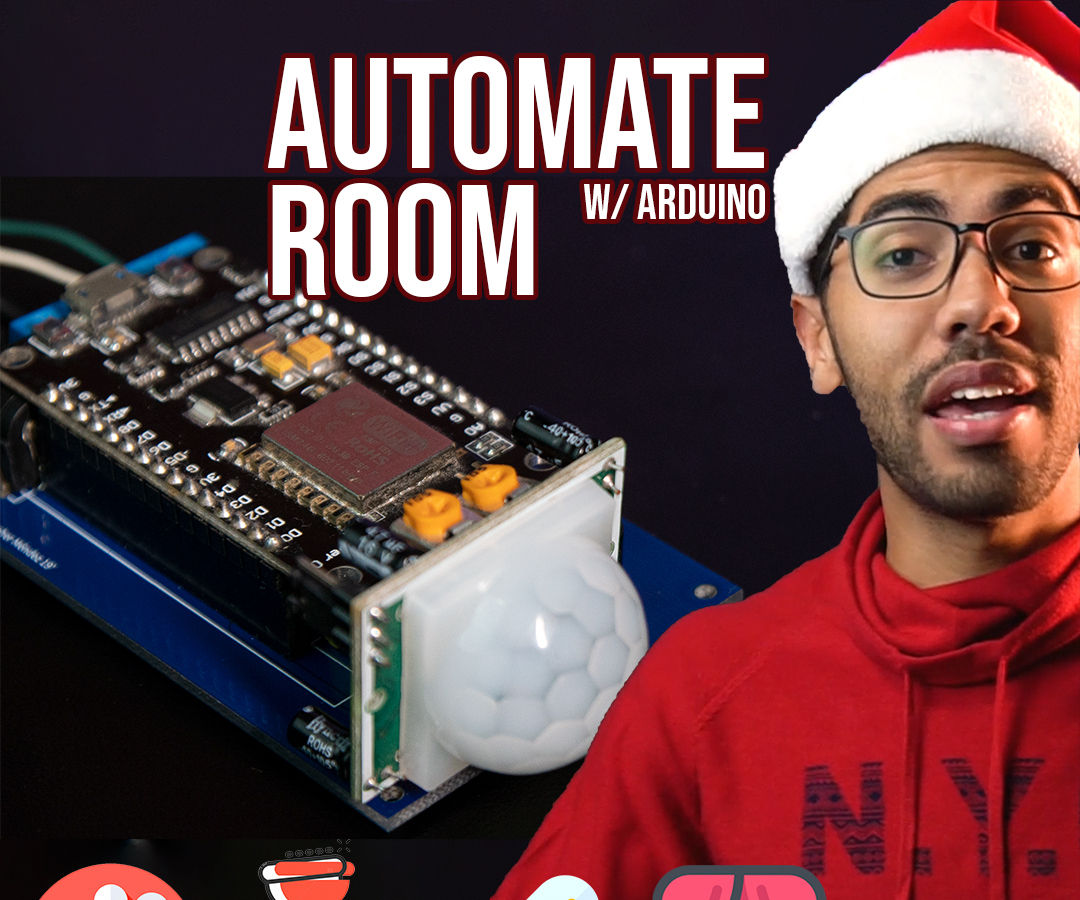 Room Control With ESP8266 | Temperature, Motion, Curtains and Lighting