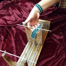 做一个珠织机和手镯
