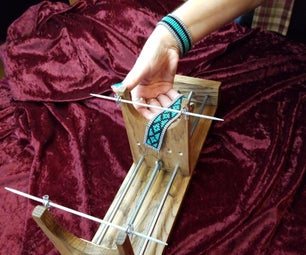 制作珠子织机和手链