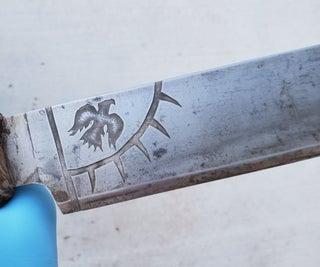 Salt Water Etching Steel - Knives, Axes, Pacifiers, Etc