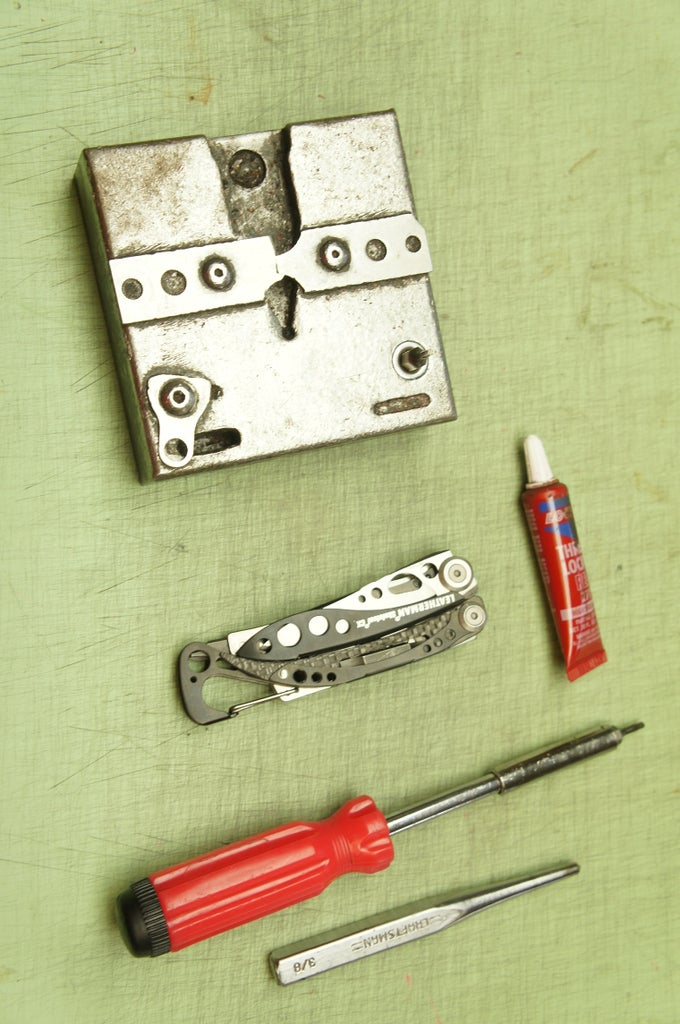 Tools and Materials List