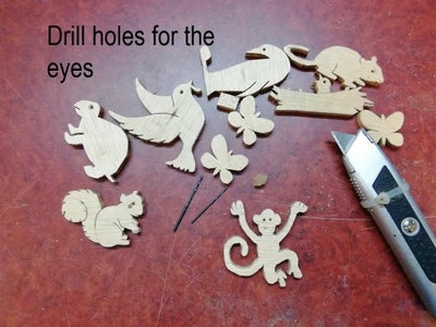 Drill Holes for the Eyes