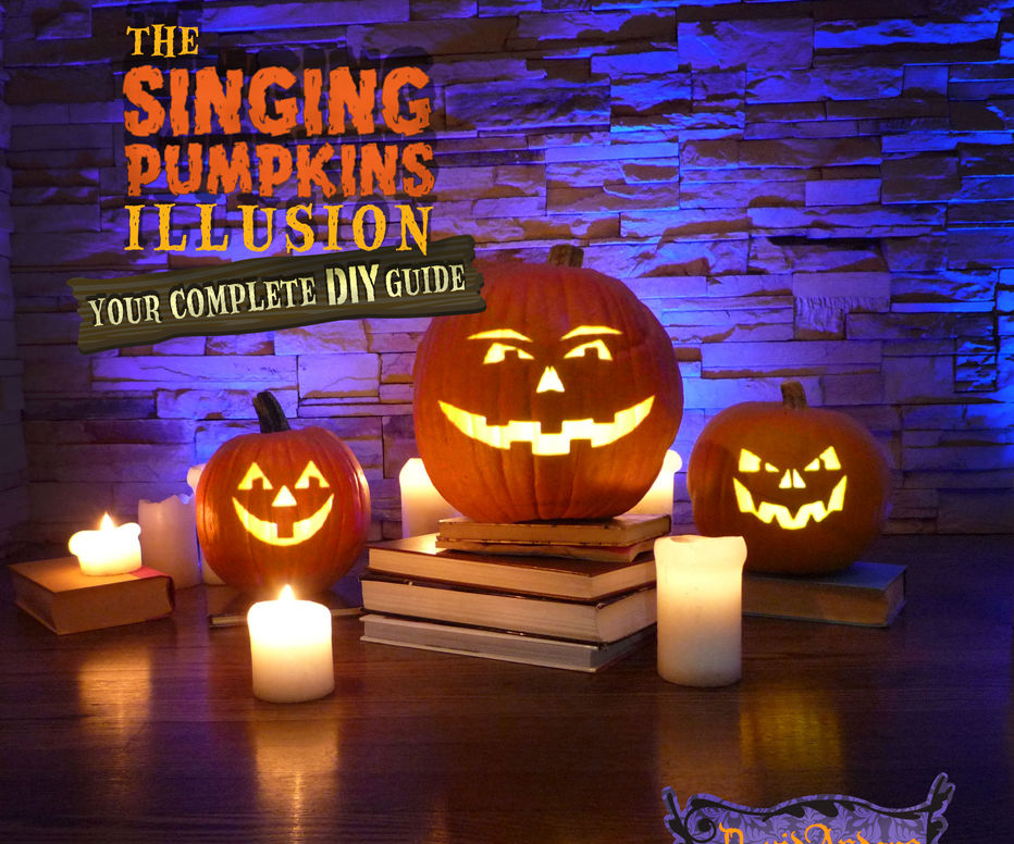 Singing Pumpkins Illusion DIY guide