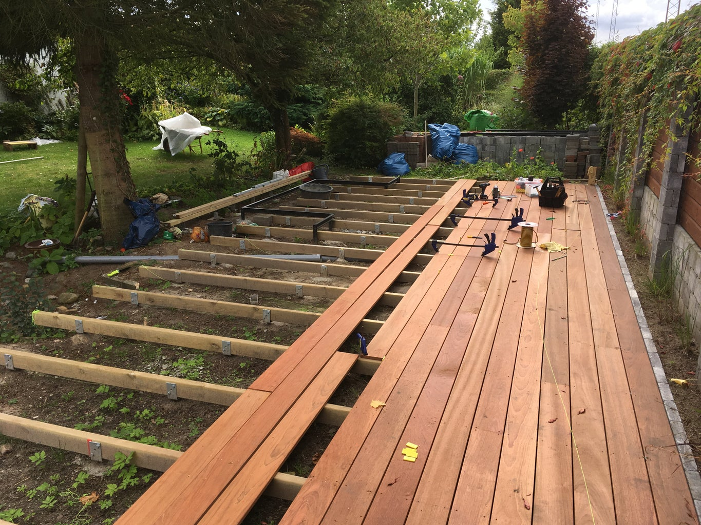 Laying the Deck