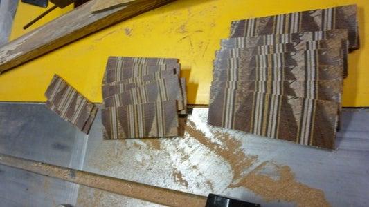 Arrange Cut-offs for Final Glue-up