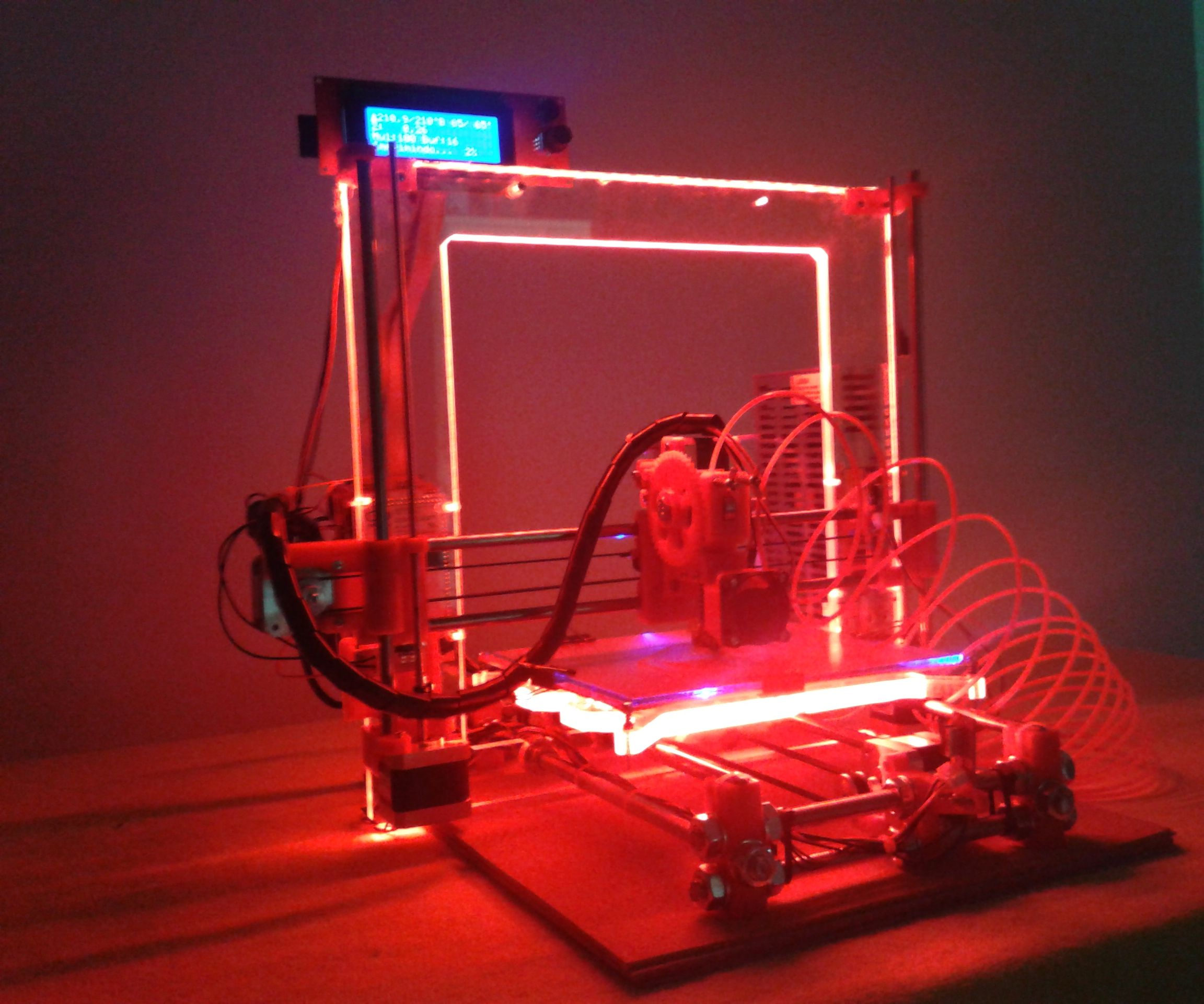 How to light up your 3D Printer