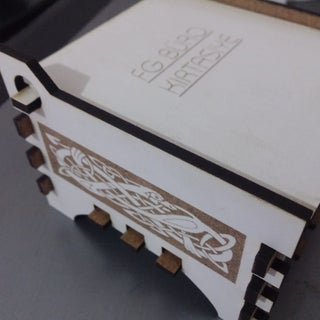 Laser Cut Jewelry Box