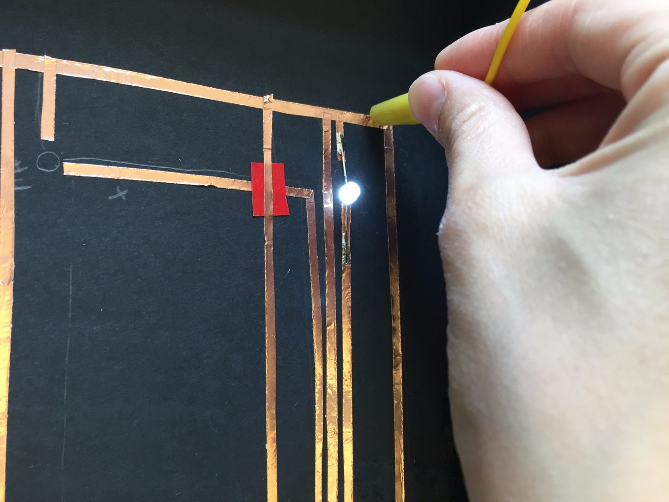 Solder LEDs to the Circuit