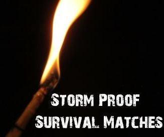 Storm Proof Survival Matches