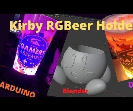 Kirby RGBeer Holder
