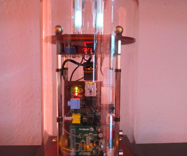 A Steampunk high quality MP3 Player