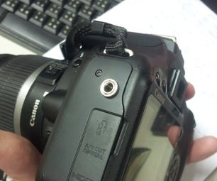 Cannon 500d External Mic Mod