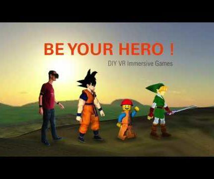 BeYourHero! DIY VR Immersive Games