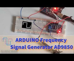 How to Use Arduino DDS Frequency Signal Generator AD9850
