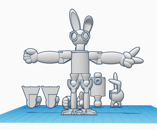 Funny Bunny (by Christina)