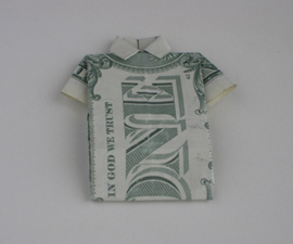 Dollar Polo Shirt