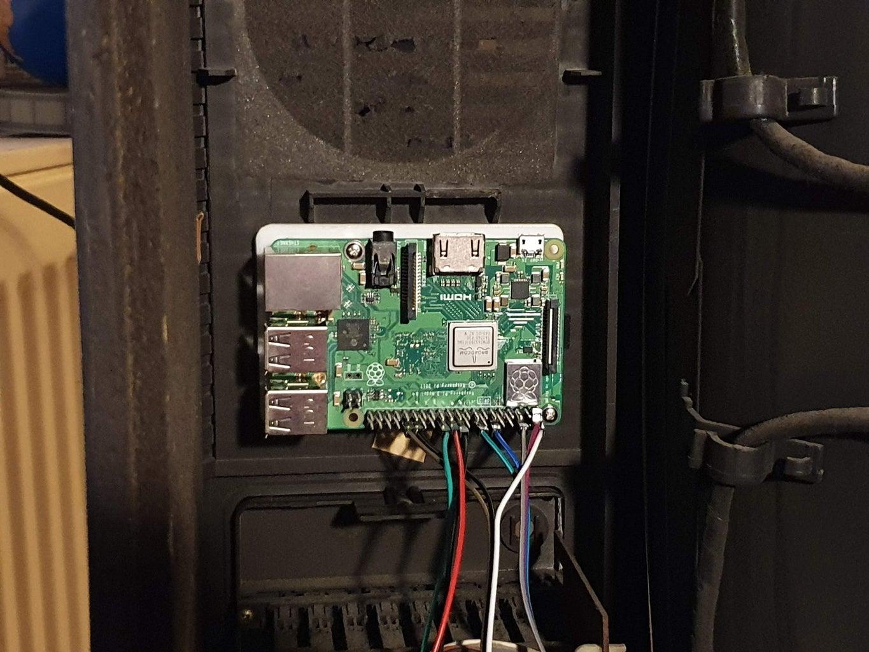 Mounting the Raspberry Pi