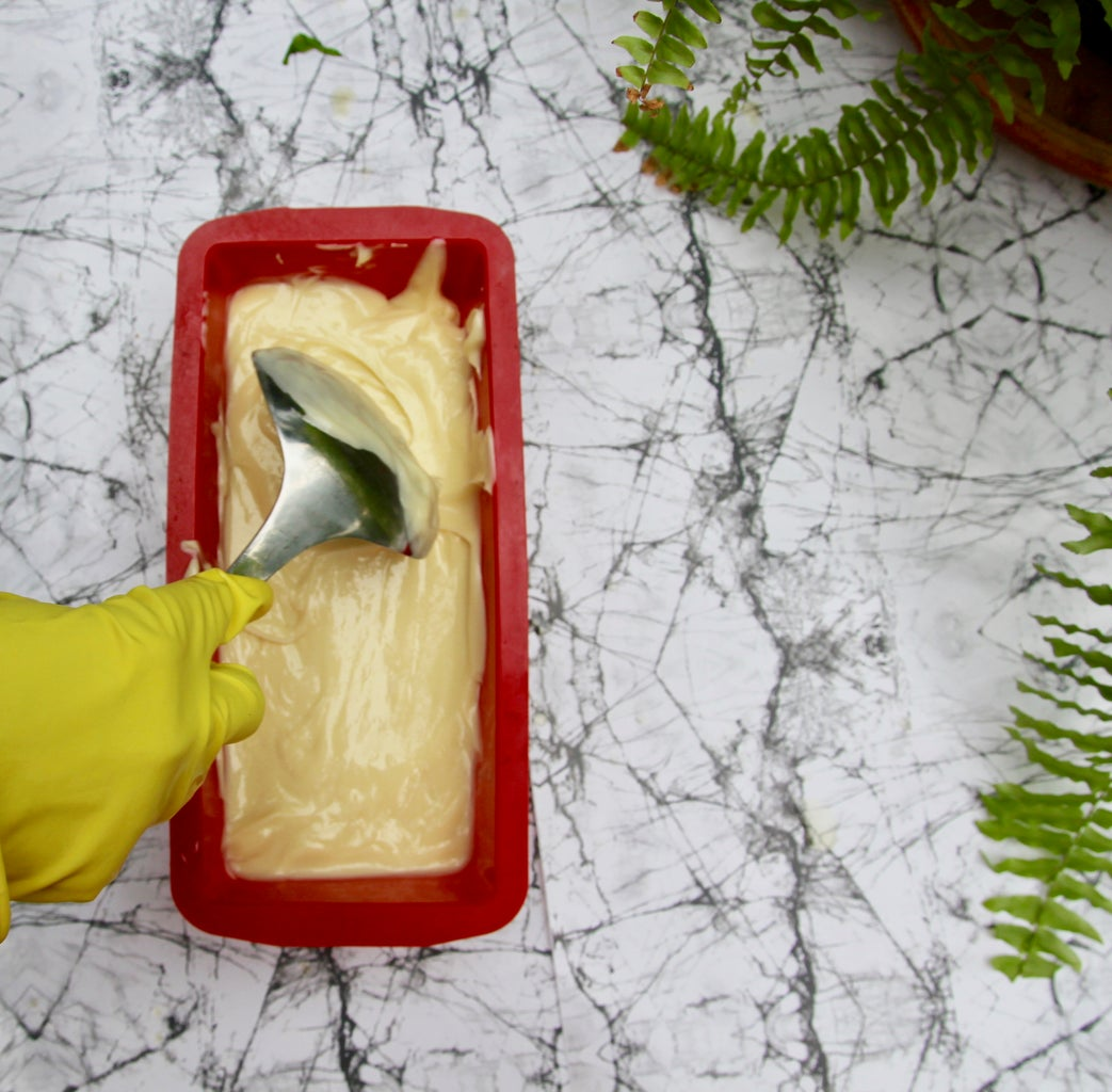 Pour Mixture in Mold