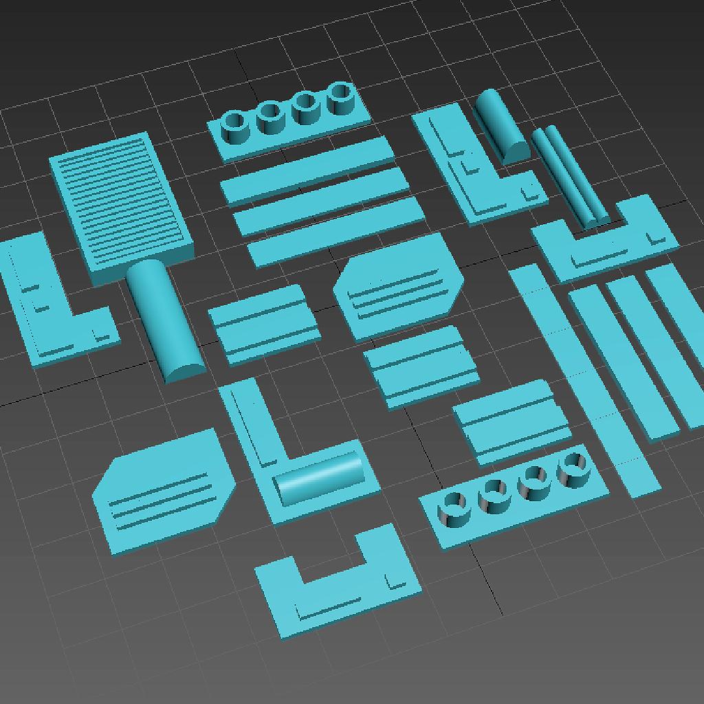 3D Printed Parts (Optional)