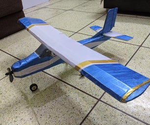 Homemade RC Cessna Skyhawk Plane EASY BUILD