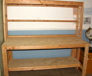 Simple Wooden Workbench