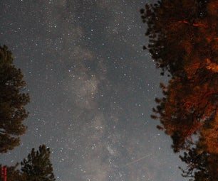 How to take pictures of stars without trails?