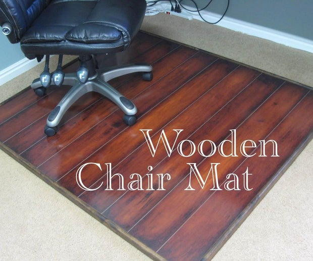 Wooden Chair Mat 6 Steps With, How To Protect Laminate Flooring From Chairs