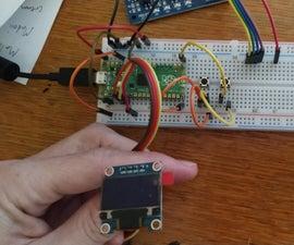 SSD1306 MicroPython Raspberry Pi Pico I2C
