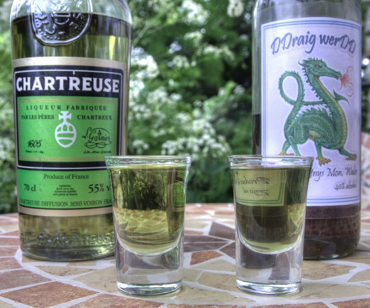 How to Make a Green Chartreuse Clone