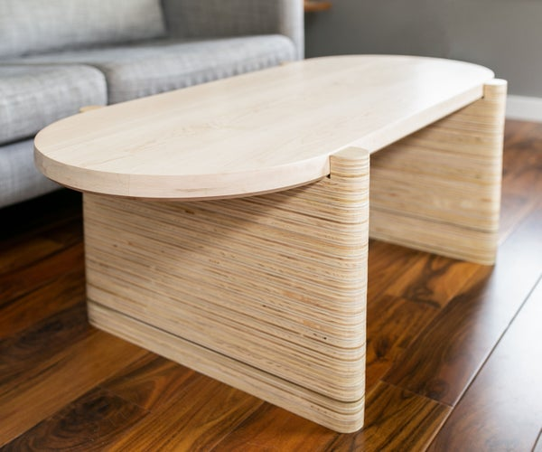 How to Build a Modern Coffee Table