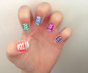 Converse Nails