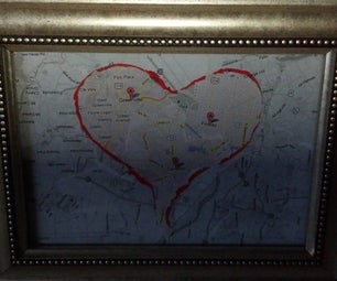 Valentine's Map to the Heart
