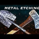 How to Metal Etch / Easy Metal Etching Using Electricity