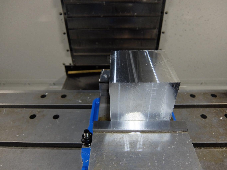 Machine the Aluminum