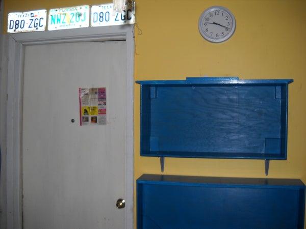 Drawer Shelving Unit