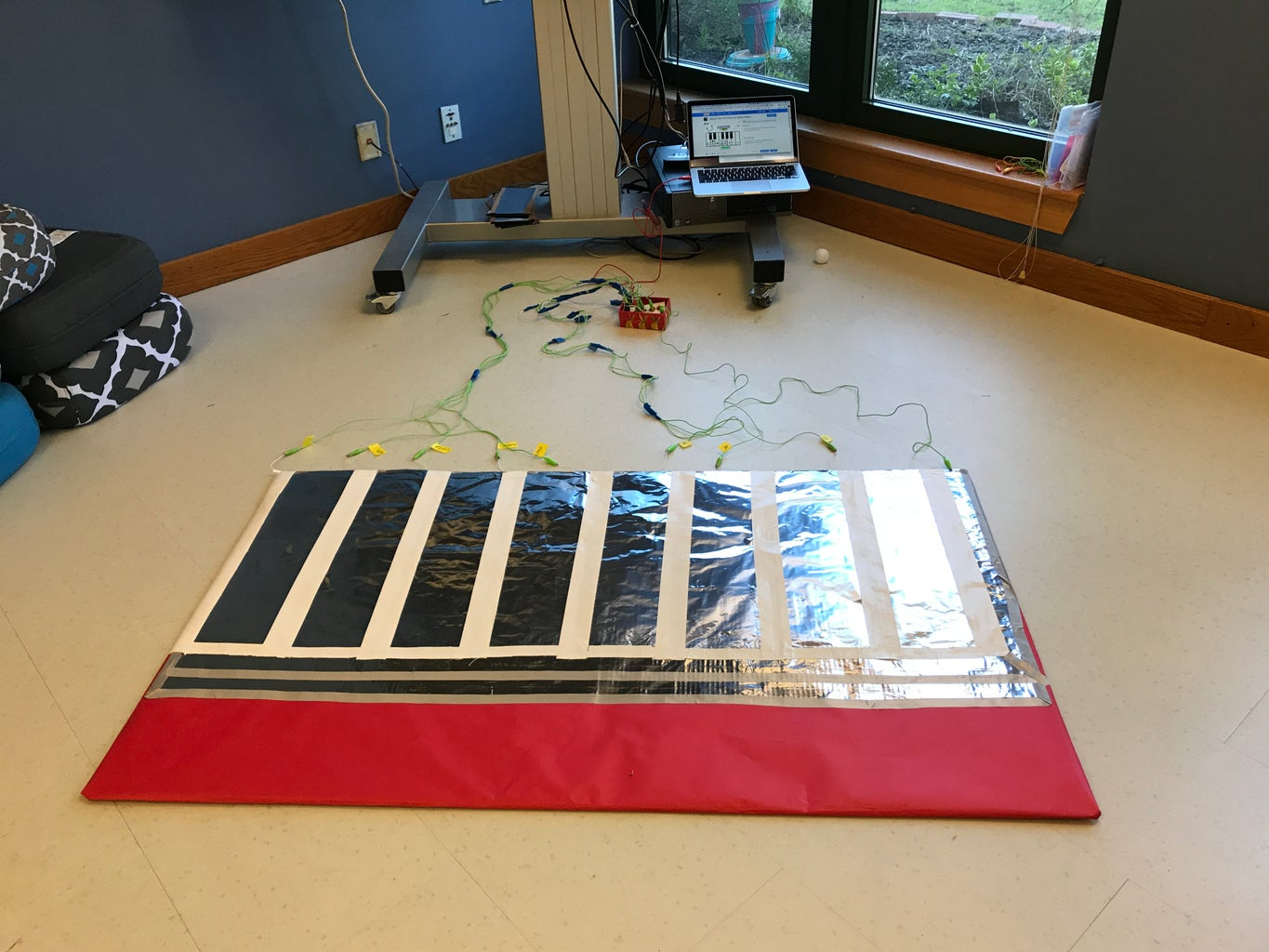 Hooking Up Makey Makey to the Full Scale Piano