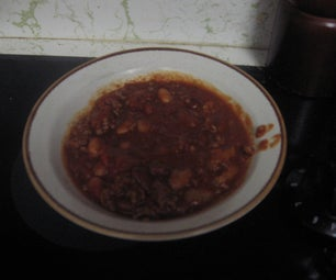 Moms Homeade Christmas Chili