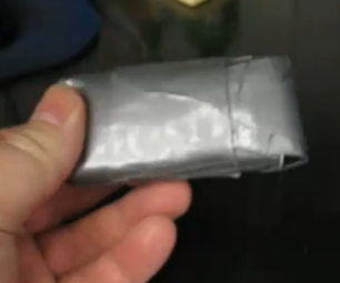 The Immensly Ugly Tyvek and Duct Tape Cell Phone Case