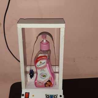 DIY Easy Non-Contact Automatic Hand Sanitizer Dispenser or Automatic Soap Dispenser With Arduino