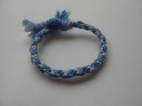 Woven Yarn Bracelet