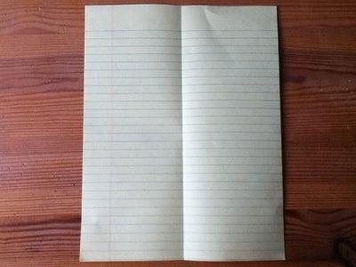 Halve the Paper